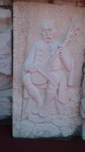 Podgorica Basilica bassorilievo 1