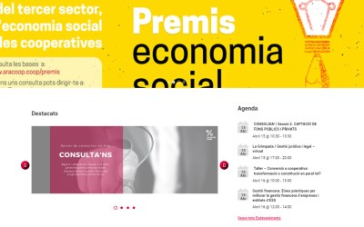 [Economia social] Us presentem el nou web del programa!