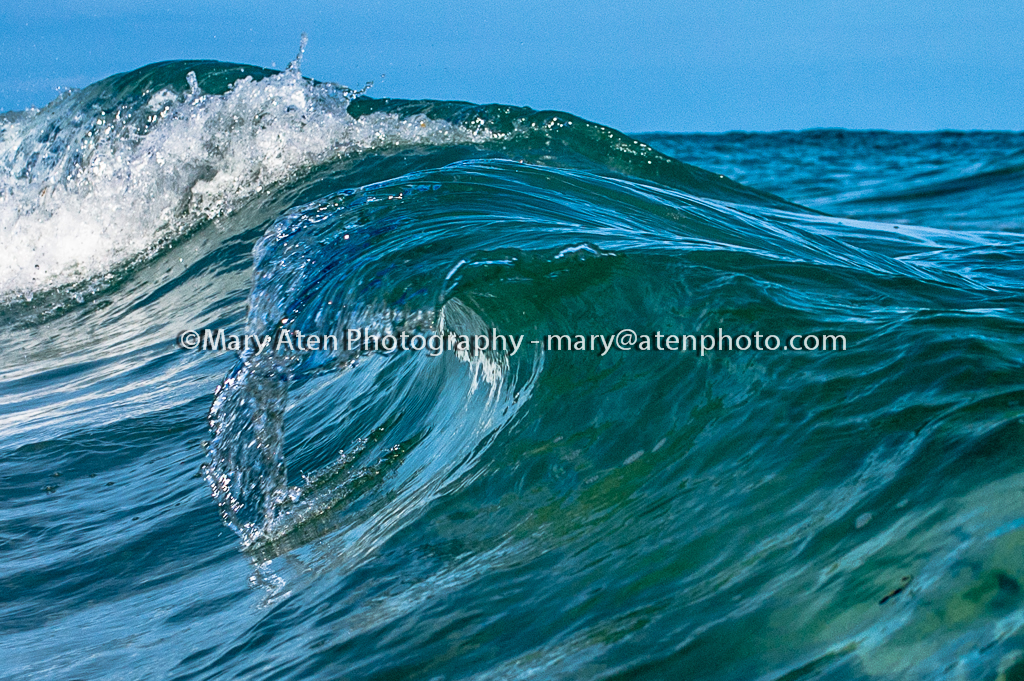 Wave Photo Wave Curling And Splashing Mary Aten