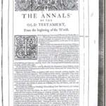 Los anacronismos de la cronología bíblica de Ussher