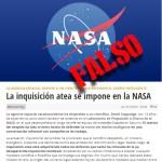 """No. David Coppedge, el creacionista, no fue despedido de la NASA """"por defender el DI en una conversación informal"""""""