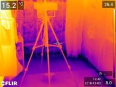 Svetainės grindų termonuotrauka