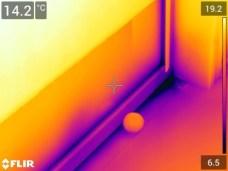 Svetainės terasos lango termonuotrauka