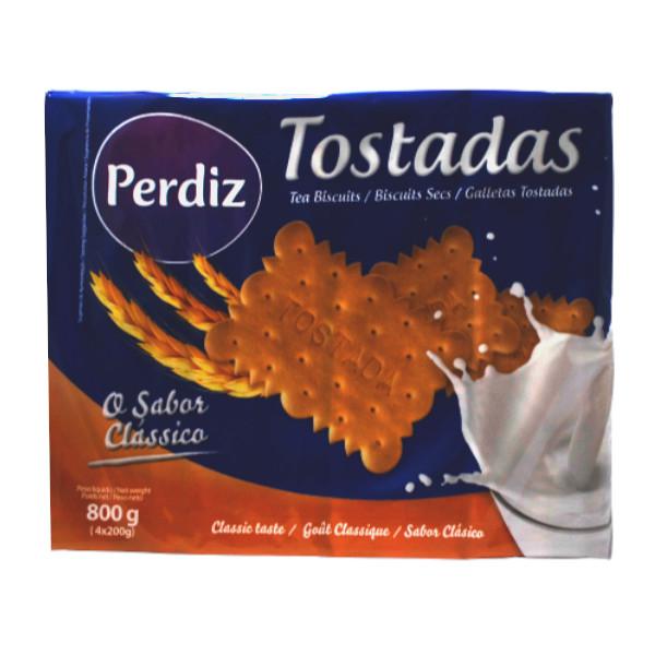 Bolacha Tostada Perdiz 800g