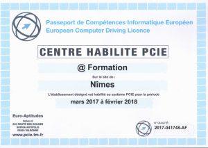 FORMATION PCIE NIMES GARD