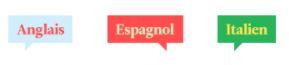 anglais espagnol italien certification évaluation