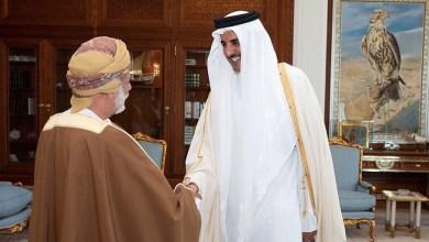 Photo of أمير قطر يستقبل بن علوي