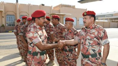 صورة قائد الجيش السلطاني العماني يتوجه للإمارات