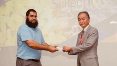 """صورة أكاديمي عُماني يفوز بـ """"أفضل بحث علمي"""" في مؤتمر دولي"""