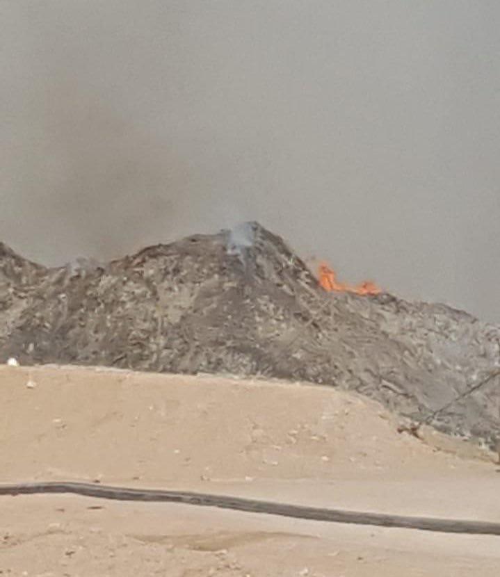 تنمية نفط عمان توضح حول الحريق في قرن علم