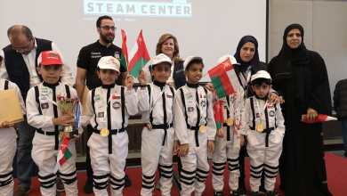 Photo of أصغر فريق عُماني يفوز في مسابقة دولية للروبوت