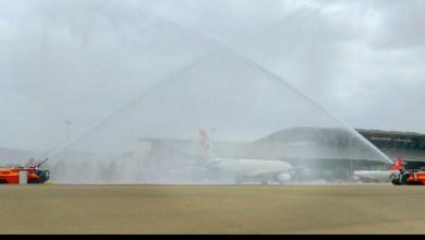 Photo of مطار صلالة يستقبل أولى رحلات الاتحاد للطيران في موسم الخريف