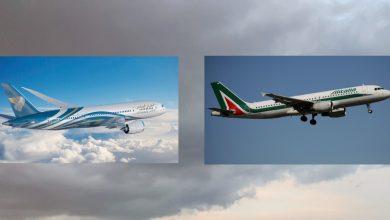 Photo of شراكة بالرمز بين الطيران العماني والخطوط الإيطالية
