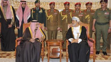 صورة بالصور: جلالة السلطان يستقبل الملك سلمان