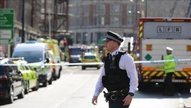 صورة القبض على قاتل محمد العريمي في لندن