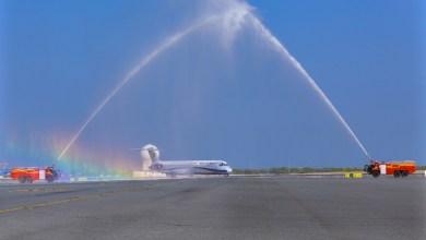 Photo of برحلتين أسبوعيًا: طيران إيراني يصل إلى مطار مسقط الدولي