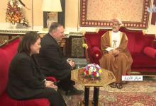 Photo of بالفيديو: جلالة السلطان يستقبل وزير الخارجية الأمريكية