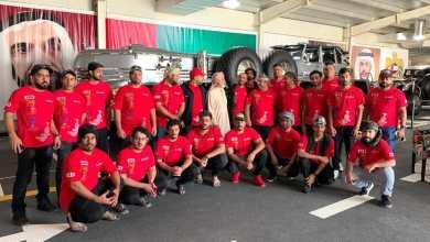 Photo of أبطال جيب عمان يتعرفون على متحف تاريخ الدفع الرباعي