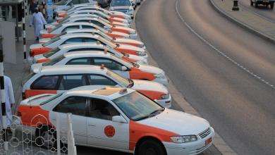 صورة السماح بتركيب عدادات متطورة لمركبات الأجرة