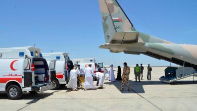 Photo of سلاح الجو ينقل مرضى من ظفار إلى مسقط