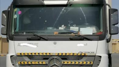 Photo of وصول شحنة برية الأولى من نوعها إلى السلطنة