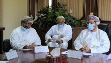 صورة لقاء بين وزير التجارة والصناعيين