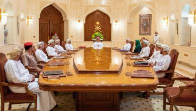 صورة برئاسة جلالة السلطان: وزير المالية يحضر اجتماع اللجنة العليا