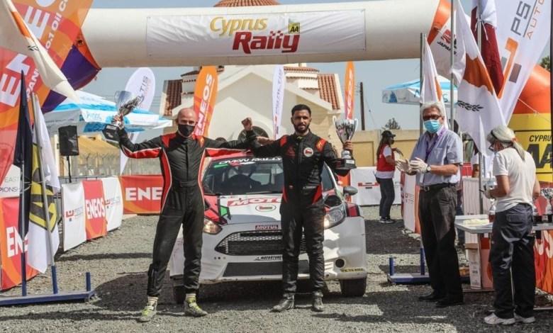 صورة عماني ثانيًا في بطولة الشرق الأوسط للراليات