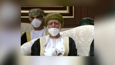 صورة يوسف بن علوي ضمن الوفد الرسمي للسلطنة المعزّي في أمير الإنسانية