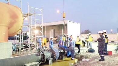 صورة غدا: بدء تحسينات في خط المياه الرئيسي للداخلية