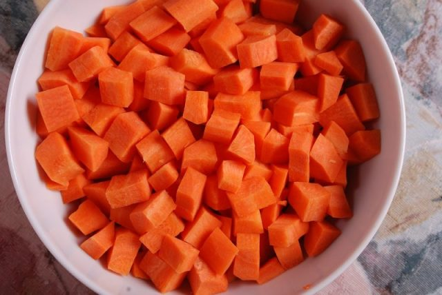 Carrot Diced Carrots Vegetables Diced Carrots