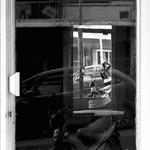 Photography White Door