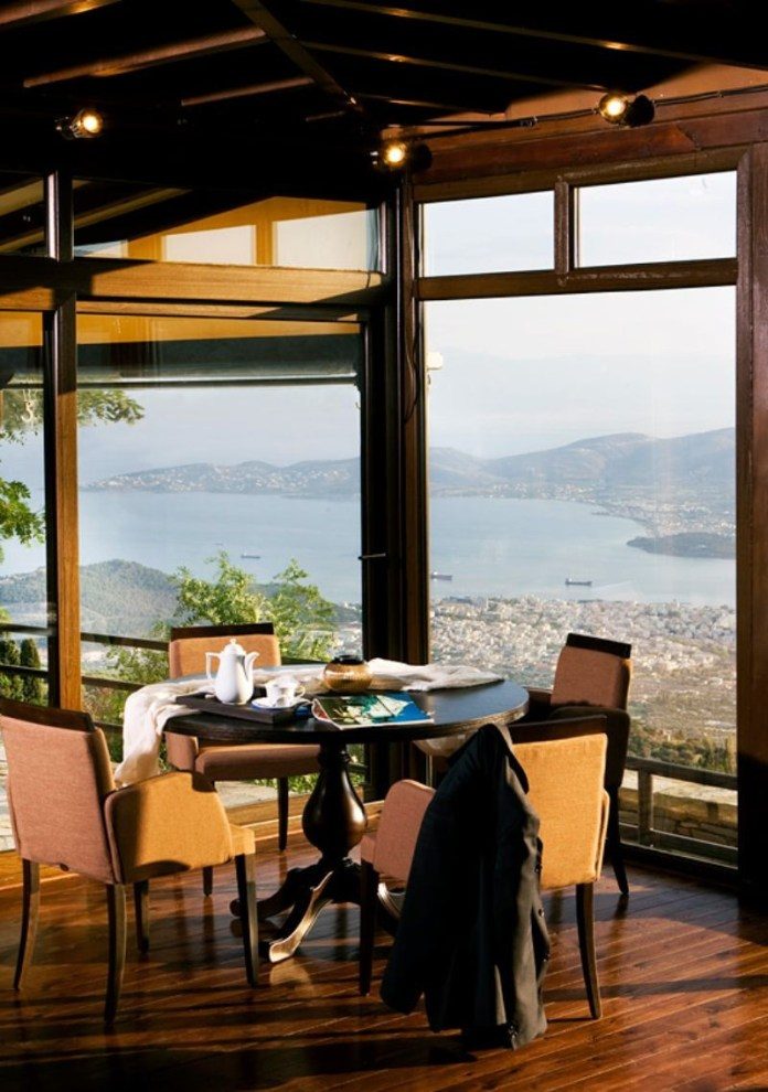 la veranda λαγονήσι για καφε
