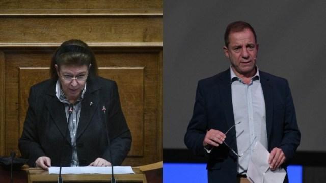 Λίνα Μενδώνη και Δημήτρης Λιγνάδης