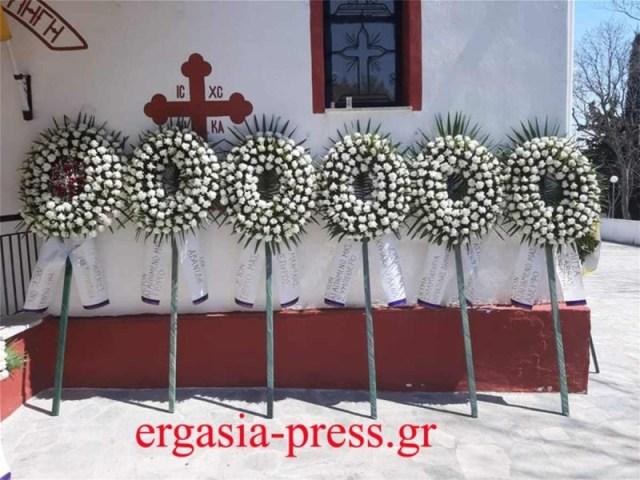 Γιώργος Καραϊβάζ κηδεία