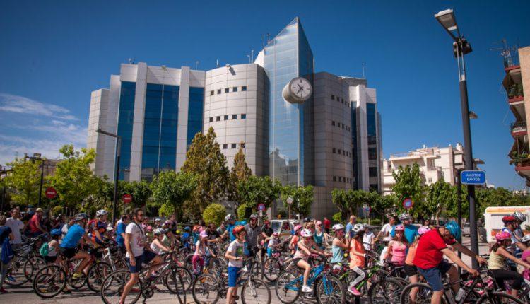 πόλη με ποδήλατο