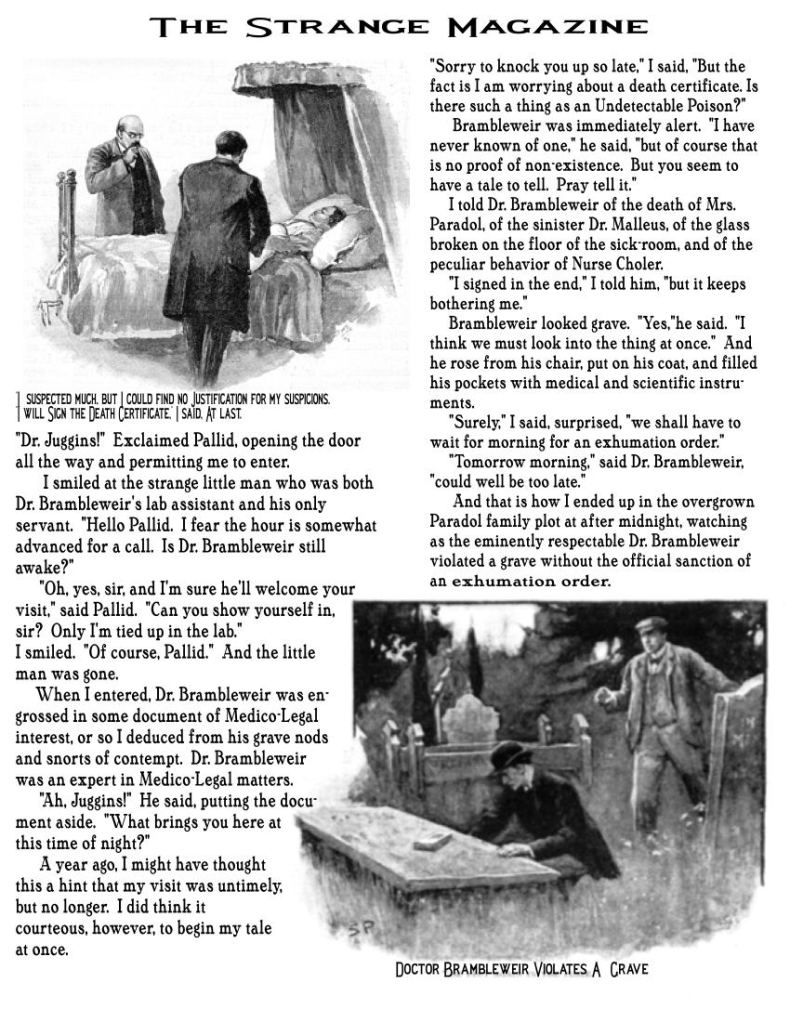 Strange Magazine Page
