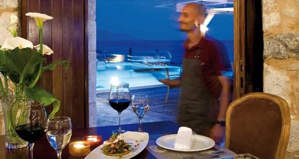 Το εστιατόριο του ξενοδοχείου Κυρίμαι