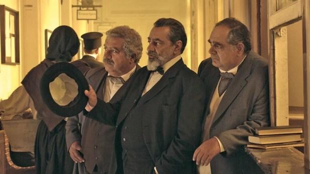 Οι «ιδρυτές» της ΑΕΚ: Αλ. Αγραφιάδης, Αντ.Καφετζόπουλος και Γ. Σουξές