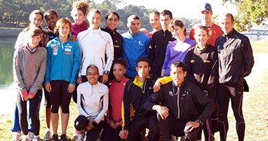 Les jeunes crossmen français préparent les Europe à Capbreton