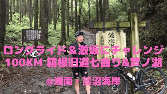 暑さにめげず激坂だいすきさんのロングライド&激坂にチャレンジ箱根旧道七曲り100km