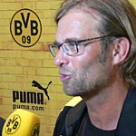 Dortmunds Trainer Jürgen Klopp. (Foto: Athletic Brandao)