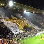 Choreo der Fans der Nationalmannschaft.