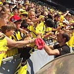 Thomas Tuchel bei der Saisoneröffnung von Borussia Dortmund (Foto: athletic-brandao.de)