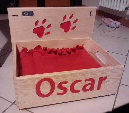 cuccia di Oscar