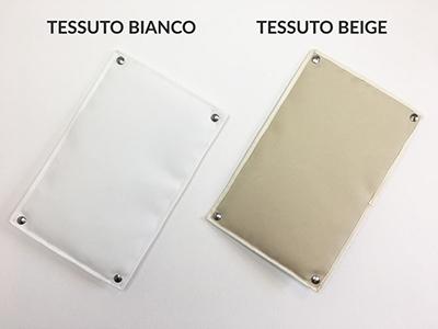 Tessuto bianco beige