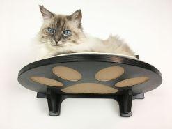 Mensola per gatti con zampine