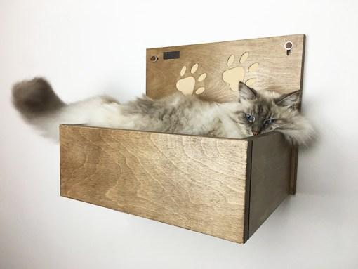Cuccia da parete per gatti