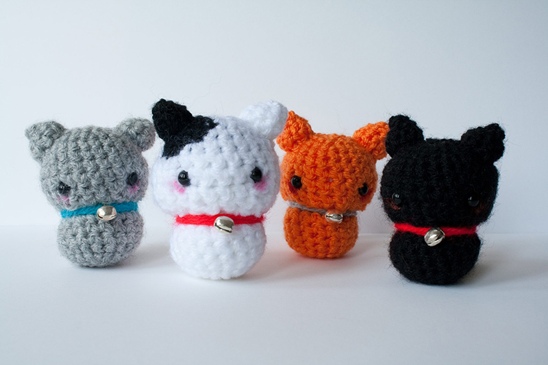 Amigurumi Cat Wool