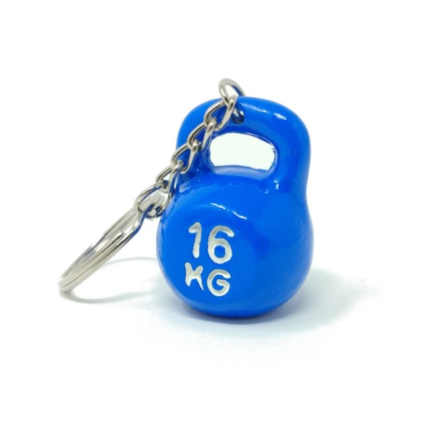 Kettlebell Crossfit Keychain Sports Accessory Decoration Gym Bag